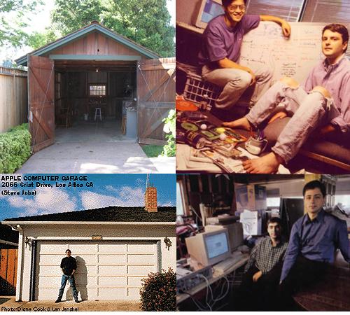 Apple Garage First Starting : Venture capital start up page