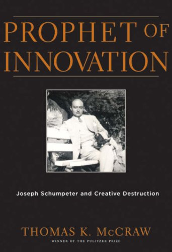 Prophet of Innovation Joseph Schumpeter and Creative