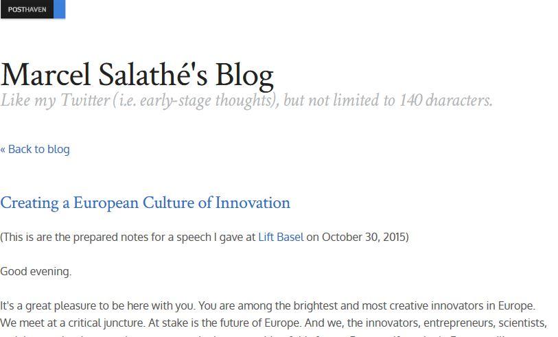 Salathe-Blog