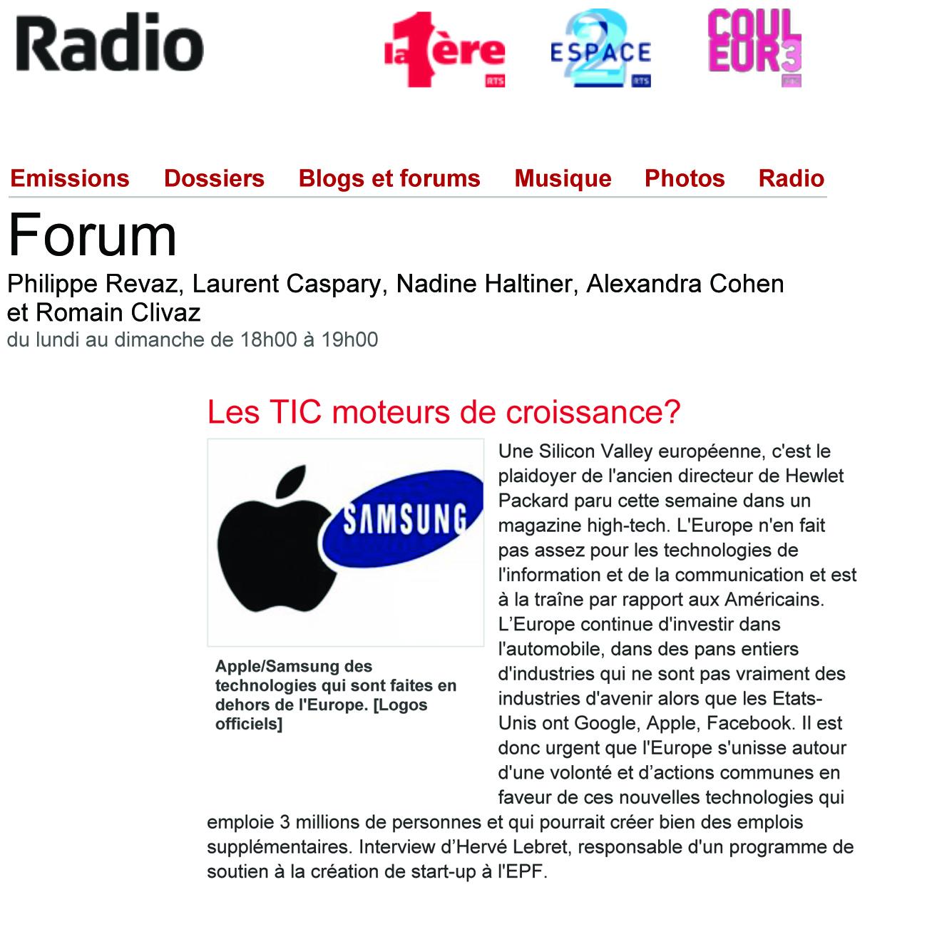 Forum-SiliconValleyEuropeenne