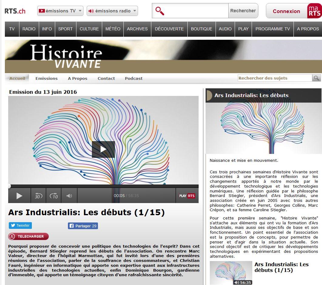 HistoireVivante-ArsIndustrialis